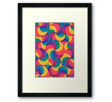 Spiral Mess Framed Print