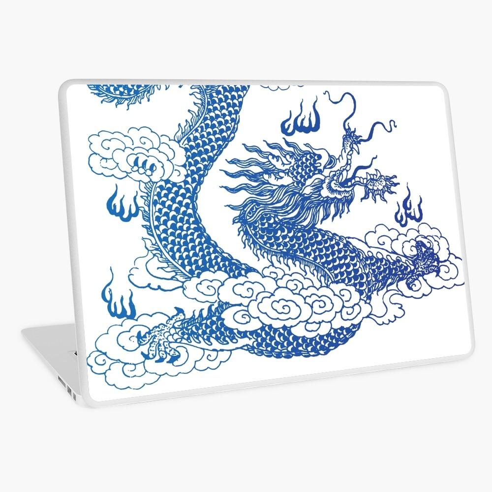 Awesome Asian Dragon Laptop Skin