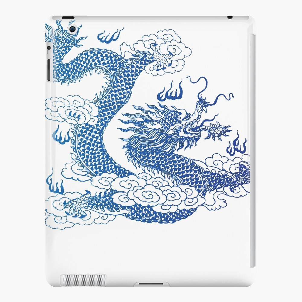 Awesome Asian Dragon iPad Case & Skin