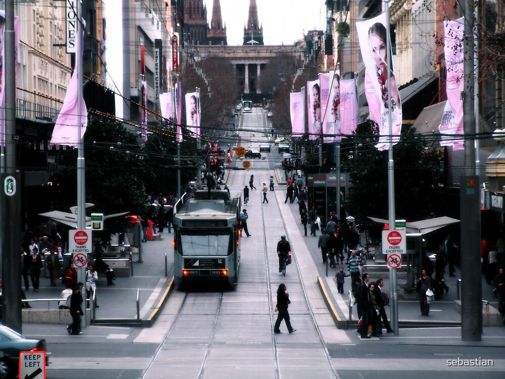 The beautiful Bourke Street by sebastian
