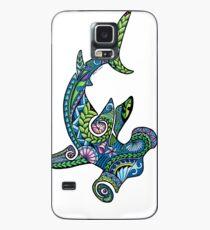 Tribal Hammerhead Shark, color Case/Skin for Samsung Galaxy