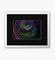 The Fractal Technicolor Rainbow of Oz the Great and Powerful Framed Print