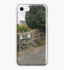 Twin Peaks B&B  iPhone Case/Skin