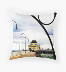 Last day of winter Throw Pillow