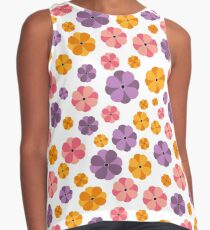 Seamless floral pattern Contrast Tank