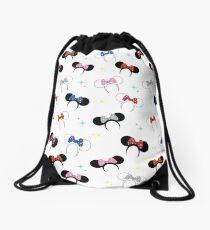 Magical Polka Dot Ears Drawstring Bag