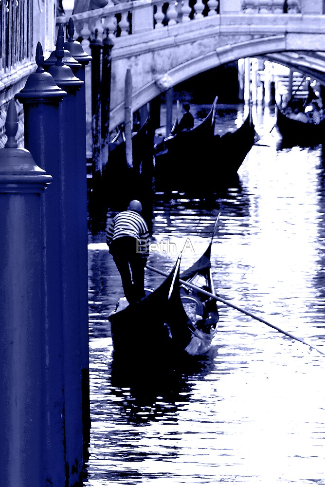 A Lazy Day in Venice  by Beth A