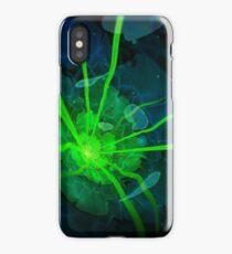 Atlantian Fractal -- Flower of the Long Sleep iPhone Case/Skin