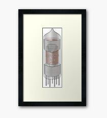Flux Valve Tube Framed Print