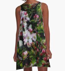 The softness of spring A-Line Dress