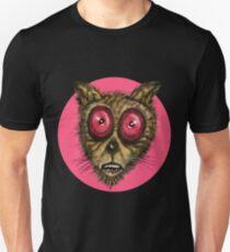 Scraggly Cat Circle   T-Shirt