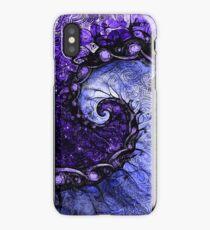 Nocturne of Scorpio -- Fractal Astrology iPhone Case/Skin