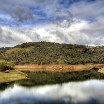Kangaroo Creek Reservoir, South Australia by arkle