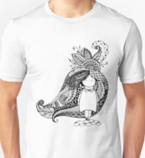 Cartoon character drawn in style of dudling T-Shirt