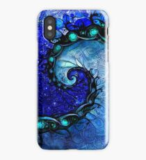 Nocturne of Scorpio - A Fractal Painting iPhone Case/Skin