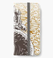 Castle of the Serpent  iPhone Wallet