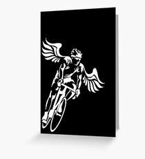 Bicycle Wings Greeting Card
