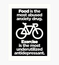 Food and Exercise Art Print