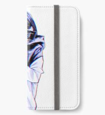 KALT - Traurige japanische Ästhetik iPhone Flip-Case/Hülle/Klebefolie