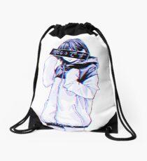 COLD - Sad Japanese Aesthetic Drawstring Bag