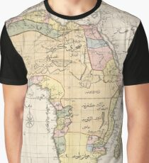 African map Graphic T-Shirt