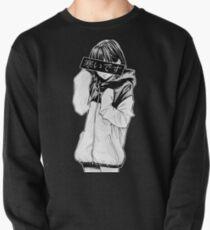 KALT (schwarz und weiß) - traurig japanische Ästhetik Sweatshirt