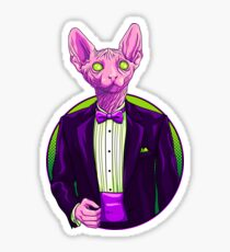 Business Sphynx Sticker
