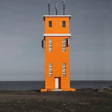 icelandic lighthouse by zoemeinke