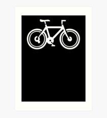 Shades of Bicycle Art Print