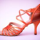 Ballroom and latin salsa dance shoe for ladies by GemaIbarra