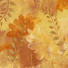 Ragusa Floral - Fire Gold by Lynn Nafey