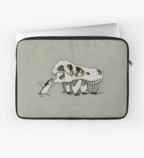 Tyrannosaurus Skull Penguins Laptop Sleeve