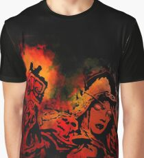 Strong fire Graphic T-Shirt