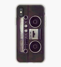 80s Retro Boombox iPhone Case