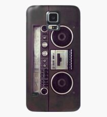 80s Retro Boombox Case/Skin for Samsung Galaxy