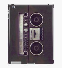 80s Retro Boombox iPad Case/Skin