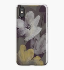 Marisol Floral - Armadillo Gray iPhone Case/Skin
