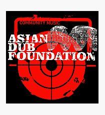 Community Music Asian Dub Foundation Photographic Print