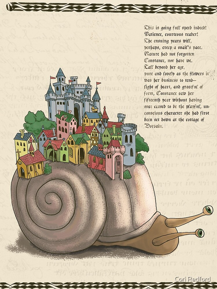 Medieval Snail by coriredford