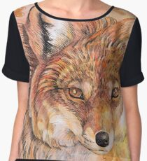 Autumn Stare Women's Chiffon Top