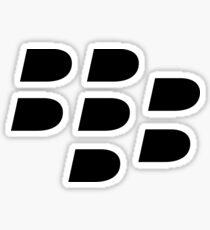 Pegatina Los fanáticos de Blackberry deben tener artículos