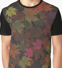 Leaves Dancing in the Dark Graphic T-Shirt