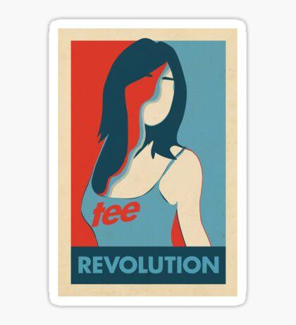Tee Revolution Sticker