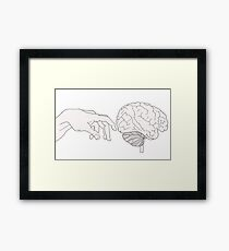 The Creation of Thought Framed Print