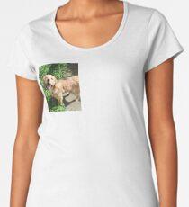 Finn the golden retriever Women's Premium T-Shirt