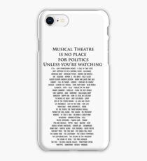 Musical Theatre iPhone Case/Skin