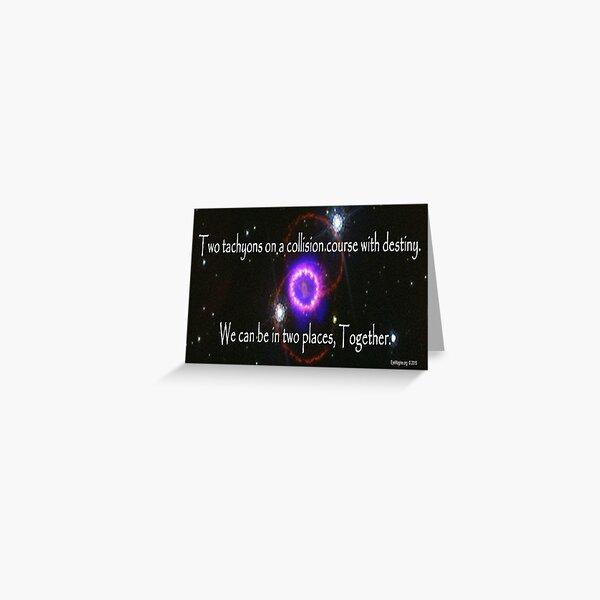 Quantum Lovers Greeting Card