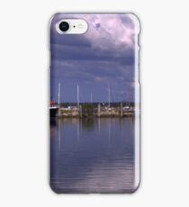 Moored at Yamba Marina iPhone Case/Skin