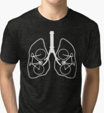 Bicycle Lungs Tri-blend T-Shirt