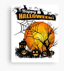 Halloween Canvas Print